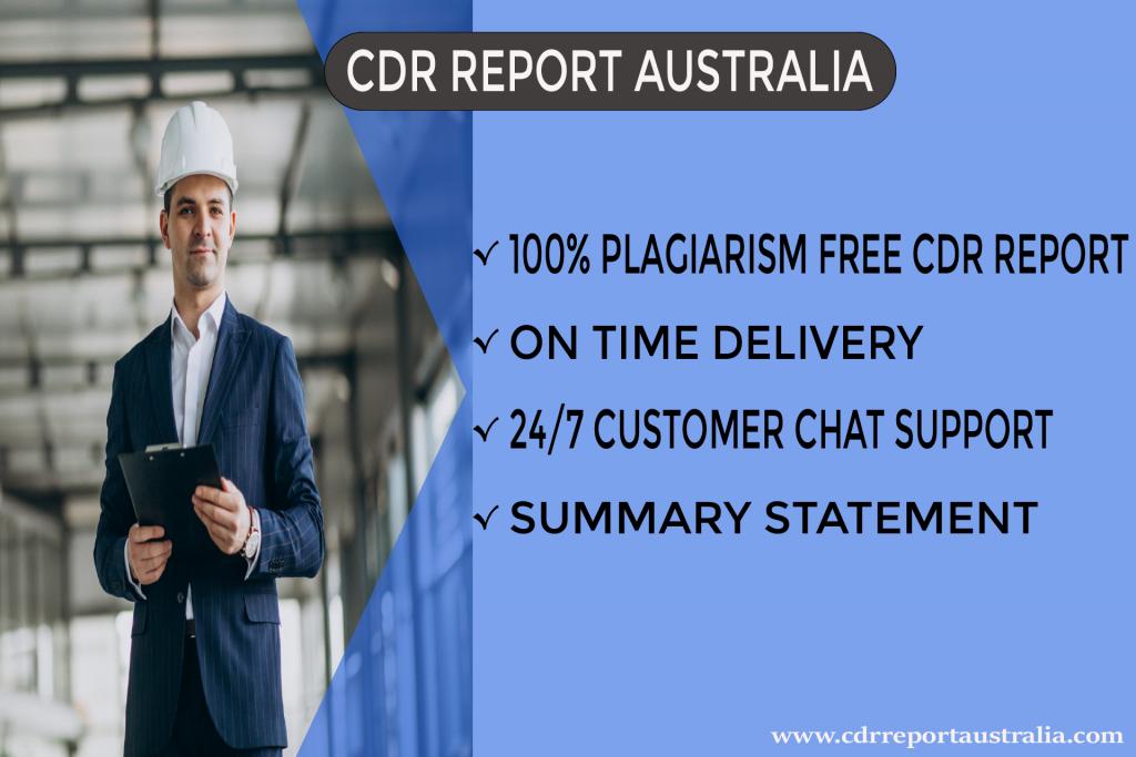CDR Report Australia